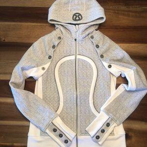 Lululemon special edition scuba hoodie/vest size 6